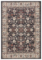 Jaipur Living Elysian Sylva Ely01 Dark Gray - Red Area Rug