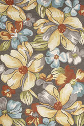 Jaipur Living Flora Abita Flo03 Chocolate Chip Area Rug