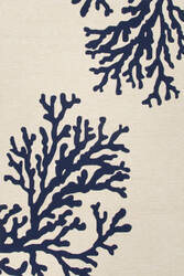 Jaipur Living Grant I-O Bough Out Gd47 Cloud Dancer - True Blue Area Rug
