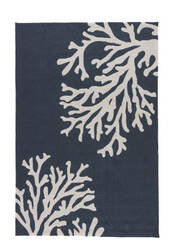 Jaipur Living Grant I-O Bough Out Gd48 Blue Nights - Birch Area Rug