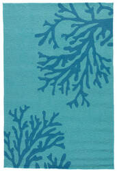 Jaipur Living Grant I-O Bough Out Gd50 Seaport - Algiers Blue Area Rug