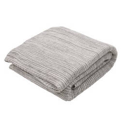 Jaipur Living Gem Throw Gem-01 Gem02 Neutral Gray And Lily White