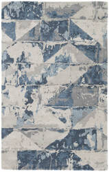Custom Jaipur Living Genesis Conde Ges12 Gray - Blue Area Rug