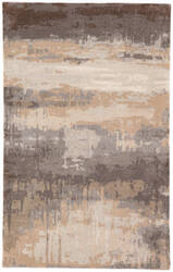 Custom Jaipur Living Genesis Benna Ges26 Gray - Tan Area Rug