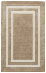 Jaipur Living Gramercy By Kate Spade New York Double Border Gkn51 Dark Straw Area Rug