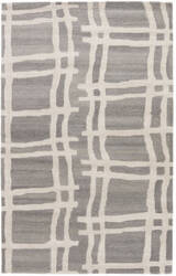 Jaipur Living Gramercy By Kate Spade New York Broken Plaid Gkn56 Heather Grey Area Rug