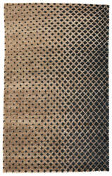 Jaipur Living Giza By Nikki Chu Eclipse Gnc02 Dijon - Jet Black Area Rug