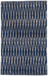 Jaipur Living Hollis Beau Hol08 Insignia Blue and White Asparagus Area Rug