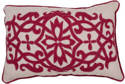 Jaipur Living Inspired By Jennifer Adams Pillow Jen02 Jai05 Creme Brulee