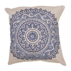 Jaipur Living Inspired By Jennifer Adams Pillow Jen07 Jai09 Creme Brulee