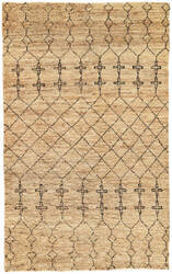 Jaipur Living Luxor By Nikki Chu Lapins Lnk05 Taos Taupe Area Rug