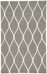 Jaipur Living Lounge Marquia Loe01 Steel Gray - Egret Area Rug