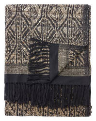 Jaipur Living Lovell Throw Pyramids Lov10 Mojave Desert - Jet Black Area Rug