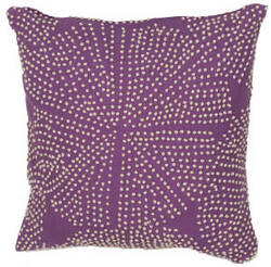 Jaipur Living En Casa By Luli Sanchez Pillow Encasa09 Lsc20 Purple Passion