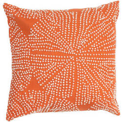 Jaipur Living En Casa By Luli Sanchez Pillow Encasa09 Lsc22 Mandarin Orange
