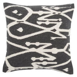 Jaipur Living En Casa By Luli Sanchez Pillow Mirja Lsc42 Black - White Area Rug