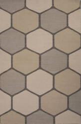 Jaipur Living En Casa By Luli Sanchez Flat-Weave Beehive Lsf30 Aluminum - Pewter Area Rug