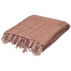 Jaipur Living Madura Throw Ma-01 Mau01 Mocha Mousse
