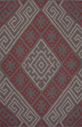 Jaipur Living Traditions Made Modern Cotton Flat Weave Zagros Mcf08 Monument - Cement Area Rug