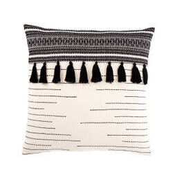 Jaipur Living Mercado Pillow Palace Mco04 Black - Ivory
