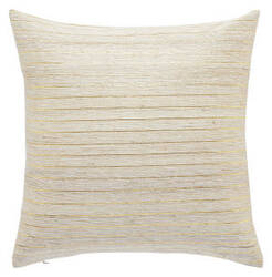 Jaipur Living Mandarina Pillow Metal-01 Mdr12 Tapioca - Rich Gold