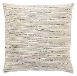Jaipur Living Mandarina Pillow Metal-06 Mdr17 Oxford Tan - Silver