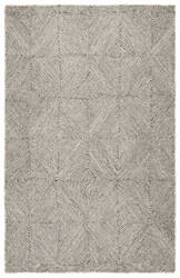 Jaipur Living Traditions Made Modern Tufted Exhibition Mmt19 Whisper White - Beluga Area Rug