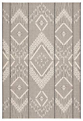 Jaipur Living Monteclair Shiloh Moc05 Dark Gray - Cream Area Rug