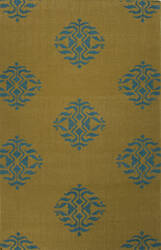 Jaipur Living Maroc Nada Mr122 Ecru Olive - Deep Lake Area Rug