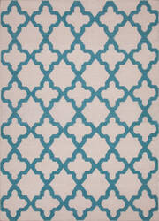 Jaipur Living Maroc Aster Mr55 Turtledove - Brittany Blue Area Rug
