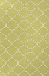 Jaipur Living Maroc Delphine Mr78 Green Banana - Cloud Dancer Area Rug