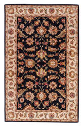 Jaipur Living Mythos Selene MY03 Jet Black - Fog Area Rug