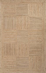 Jaipur Living Naturals Tobago Aaron Nat06 Bleached Sand - Croissant Area Rug