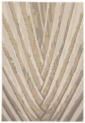 Jaipur Living National Geographic Home Collection Palm Leaf Ngo06 Incense and Fog Area Rug