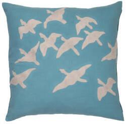 Jaipur Living National Geographic Home Collection Pillow Ng-01 Ngp01 Capri