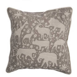 Jaipur Living National Geographic Home Collection Pillow Ng-13 Ngp27 Simply Taupe