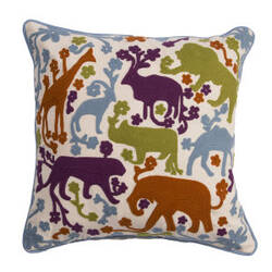 Jaipur Living National Geographic Home Collection Pillow Ng-21 Ngp35 Antique White
