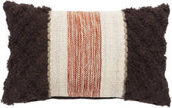Jaipur Living National Geographic Home Collection Pillows Pillow Hasina Ngp46 Brown - Ivory Area Rug