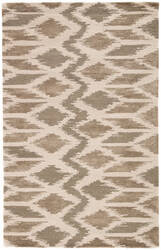 Jaipur Living National Geographic Home Collection Jojoba Ngt16 Moon Mist and Aluminum Area Rug