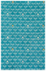 Jaipur Living Playful By Petit Collage Sprouts Pbp07 Deep Lake Area Rug