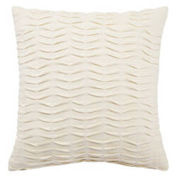 Jaipur Living Petal Pillow Pt02 Pet07 Egret