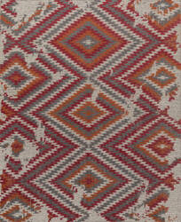 Jaipur Living One Of A Kind Pkwl-453 Dark Gray - Fiery Red Area Rug