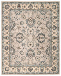 Custom Jaipur Living Poeme Colmar Pm148 String - Silver Blue Area Rug