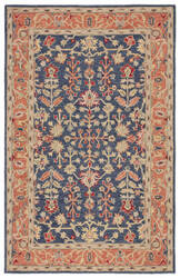 Jaipur Living Province Presley Pro03 Blue - Red Area Rug
