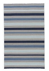 Rugstudio Sample Sale 75004R Vanilla Ice / Dark Denim Area Rug