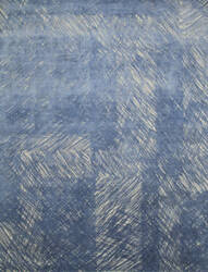 Jaipur Living Free Verse By Kavi Oyster Grey - Cornflower Blue 8' x 10' Rug