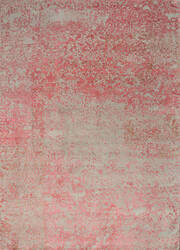 Jaipur Living One Of A Kind Qm-958 Crystal Gray - Old Rose Area Rug