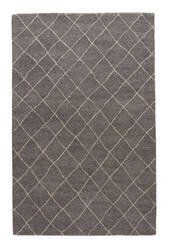 Jaipur Living Riad Gem Ria01 Charcoal Gray - Oyster Gray Area Rug