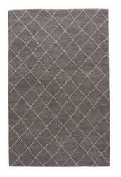 Jaipur Living Riad Gem Ria01 Charcoal Gray - Oyster Gray Area Rug