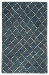Jaipur Living Riad Gem Ria02 Blue Ashes - Oyster Gray Area Rug